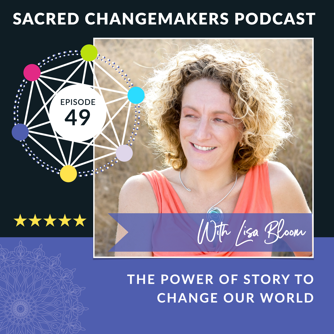 Image of Lisa Bloom for the Sacred Changemakers Podcast